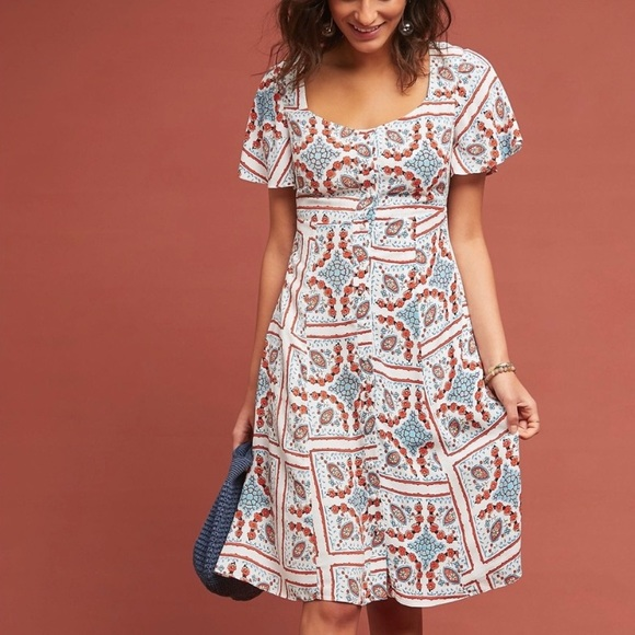 6ee82f100f5f Anthropologie Dresses & Skirts - NWOT Maeve Anthropologie Praslin Print  Midi Dress